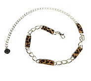 Liz Claiborne New York Adjustable Animal Chain Belt - A218176
