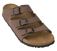 Birkis Marseille Adjustable Three Strap Comfort Sandals - A48676