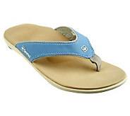 Spenco Yumi Orthotic Thong Sandals - A234479