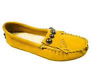 Lamo Moca Suede Leather Moccasins - A318880