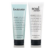 philosophy super size summer foot care set, 7 oz - A224883