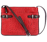 Tignanello Croco Embossed Leather Crossbody Bag - A226383