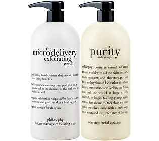 A86884 philosophy super-size purity made simple & microdelivery wash duo