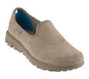 Skechers GOwalk Suede Slip-On Shoes - A230185