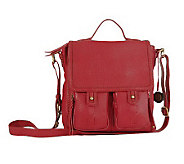 The Sak Fontana Leather Flap Bag - A323486