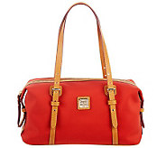 Dooney & Bourke Nylon Rectangular Duffel Satchel - A229387