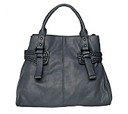 V Couture by Kooba Convertible Nappa Satchel with Stitching - A220091