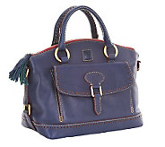 Dooney & Bourke Florentine Leather East/West Pocket Satchel - A220192