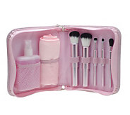 Mally 5-Piece Deluxe Brush Collection & Brush Cleaner - A326892