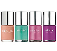 nails inc. Pretty in Pastels 4-pc. Nail Polish Collection - A235595