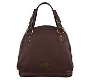 Luxe Rachel Zoe Boylston Leather Bowling Bag - A223398