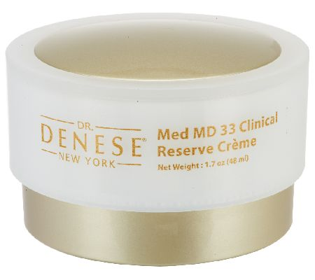 Dr. Denese Med MD 33 Clinical Reserve Creme, 1.7 oz. — QVC.com