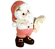 Annual Santa Figurine &quotHes Making A List&quot - C213111
