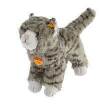 Steiff 10-inch Standing Plush Kitten