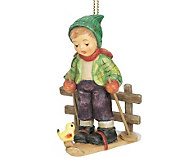 M.I. Hummel Winter Adventure Ornament - C141390