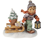 M.I. Hummel Christmas Is Coming Figurine - C212197