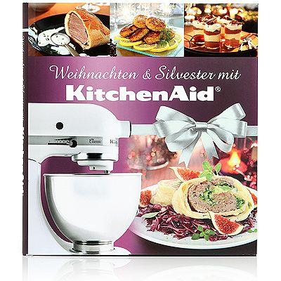 kitchenaid kochbuch 69 rezepte f r weihnachten und silvester. Black Bedroom Furniture Sets. Home Design Ideas