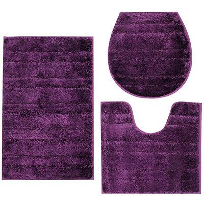 badizio mikrofaser feinhochflor hoch tief uni. Black Bedroom Furniture Sets. Home Design Ideas