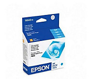 Epson T054220 Cyan UltraChrome Hi-Gloss Ink Cartridge - E207305
