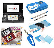 Nintendo 3DS with Crosswords Plus and Accessories - E269213