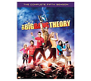 The Big Bang Theory Season 5 Three-Disc Set DVD - E263615