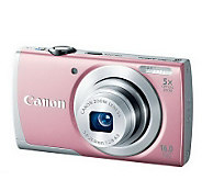 Canon PowerShot A2600 16MP, 5X Zoom Digital Camera, SDHC Card - E270022