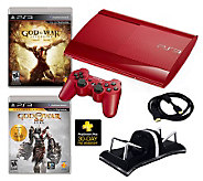 PlayStation 3 500GB Special Edition God of WarBundle - E267223