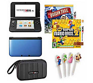 Nintendo 3DS XL with New Super Mario Bros. & Oregon Trail - E265627