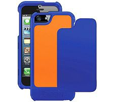 Trident AP-IPH5-NYorg iPhone 5 Apollo Case - Navy/Orange