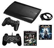 Playstation 3 Slim 250GB Bundle w/ Injustice,Batman & More - E269832