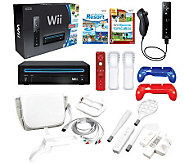 Wii Console with Sports Resort Ultimate StarterBundle - E265136