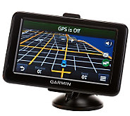 Garmin nuvi 2455LMT 4.3GPS w/Lifetime Maps and Traffic with Carry Case - E222338
