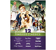 Family Film 12-Pack Timeless Classics 3-Disc DVD Set - E264239