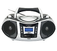 Naxa NPB-250 Portable MP3/CD Player with Text Display - E248642