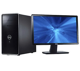Dell WiFi Desktop PC - 4GB RAM, 500GB HD & 20Flat Monitor