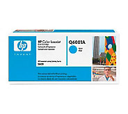 HP Color LaserJet Q6001A Cyan Print Cartridge - E176247
