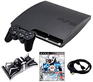 PS3 Slim 160GB Madden 13 Bundle w/ Charger andMore - E262049