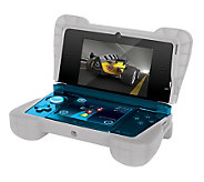 dreamGEAR Comfort Grip - Clear White - Nintendo3DS - E250159