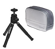 Olympus Camera Case and Mini Tripod - E223162