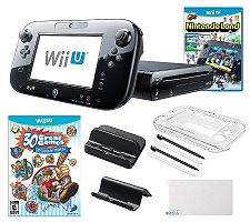 Nintendo Wii U 32GB Family Bundle with Games &Accessories