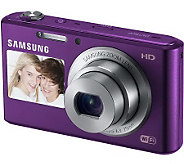 Samsung DV150F 16.2MP Dual-View Smart Camera w/Wi-Fi & Bundle - E269667