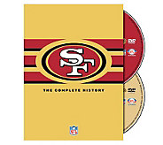 NFL History of the San Francisco 49ers 2-DVD Set - E265970