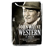 John Wayne Western Collection 3-Disc DVD Set - E266570