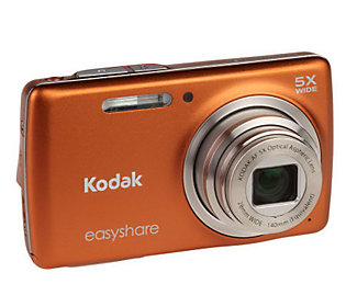 Kodak Easyshare 14 Megapixel 5X Optical Zoom Point and Shoot with Software