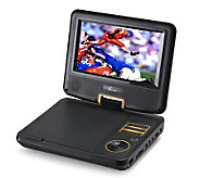 Verezano 7 LCD Screen Portable DVD Player with Swivel Screen - E223178
