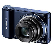 Samsung 18X Optical Zoom Digital Camera w/Wi-Fi - E268280