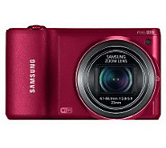 Samsung 16.3MP Digital Smart Camera with Built-in Wi-Fi - E268282