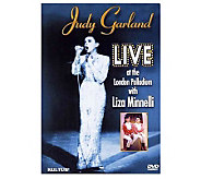 Judy Garland Live at the London Palladium w/ Liza Minnelli DVD - E265383