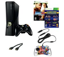 Microsoft Xbox 360 4GB System with Games & Accessories