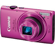 Canon ELPH 330 12.1MP, 10X Optical Zoom DigitalCamera Kit - E268484